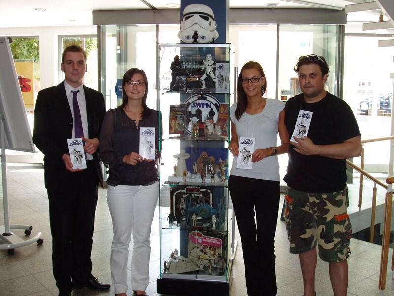 Swfn Star Wars Fans Nürnberg Ev Star Wars Ausstellung In Der